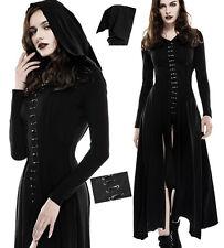 Full lenght hooded dress hoodie gothic punk lolita split lacing elf Punkrave