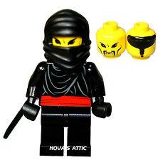 LEGO BLACK  NINJA WARRIOR  MINIFIGURE NEW