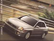2002 02 Subaru Impreza original sales brochure MINT