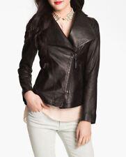 Women Leather Jacket Soft Solid Lambskin New Handmade Motorcycle Biker S M # 31