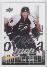 2009-10 Upper Deck MVP #83 Scott Hartnell Philadelphia Flyers Hockey Card