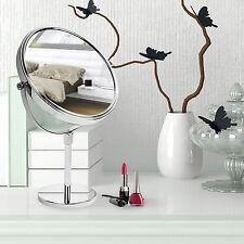 casa pura® Kosmetikspiegel 3hohe Vergrößerungsgrade wählbar 10-fach Standspiegel