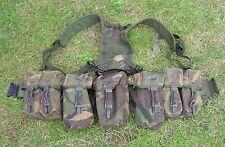 BRITISH ARMY SURPLUS ISSUE DPM IRR PLCE WEBBING SET,WATER,AMMO,UTILITY POUCH