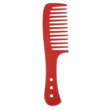Salon Hairdressing Wide Tooth Shower Brush Comb for Detangling Wet Hair