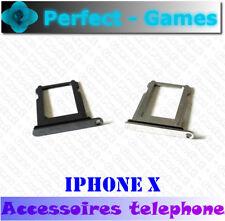 iPhone X support rack tiroir slot carte puce SIM card tray holder waterproof