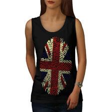 British Fingerprint Women Tank Top NEW | Wellcoda