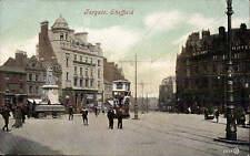 Sheffield. Fargate by Valentine's # 33628. Tram.