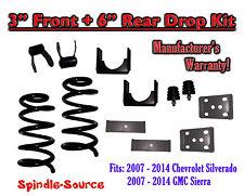 "2007 - 2013 Chevrolet Silverado / GMC Sierra 1500 V8 3"" / 6""  Lowering Drop kit"