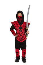 Kinder Jungen Ninja Kämpfer Karate Kid Halloween Kostüm Outfit Vex