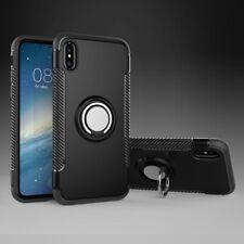 For iPhone SE 5S Ring Finger Loop Grip Magnetic Car Mount Shockproof Case Cover