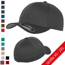 Flexfit® Wooly Combed Baseball Cap verschiedene Farben und Größen