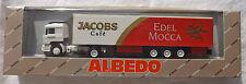 MAN F90 Jacobs Noble Mocca Albedo 800001 Valise Semi-remorque H0 1:87 å
