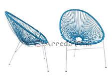 poltrona sedia seduta da esterno giardino design poltrone poli rattan sedie