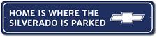 Silverado Sign, Chevy Silverado Gift, Custom Truck Sign, Metal Sign ENSA1002655