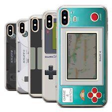 STUFF4 Gel/TPU Phone Case for Apple iPhone XS Max /Games Console
