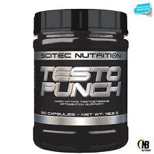 SCITEC Testo Punch 120 cps. Stimolante Testosterone con Daa Fieno Greco e Maca