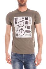 T-shirt Armani Jeans T-Shirt Sweatshirt -30% Uomo Verde C6H01DA-60 SALDI