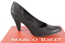 Marco Tozzi 22429 Zapatos De Tacón Mocasines mocasínes Negro Suave Suela