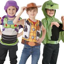 Toy Story Accessory Sets Kids Fancy Dress Disney Buzz Woody Rex Boys Costumes