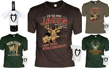 Cooles Jäger T-Shirt + Mini Flaschenshirt - Top Geschenkset Jäger Geburtstag