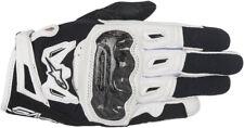 Alpinestars Womens SMX-2 Air Carbon V2 Leather Gloves (Black/Wht) Choose Size