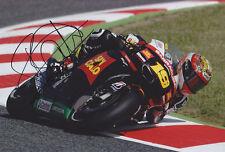 Alvaro Bautista mano firmato MOTO GP 2012 SAN CARLO HONDA FOTO 12X8 4.