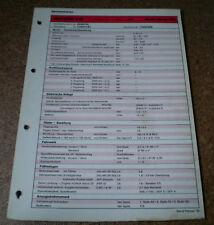 Inspektionsblatt Honda Accord 2.0i - ab Modelljahr 1993!