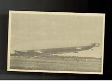 Original New RPPC Zeppelin Sachsen real picture postcard