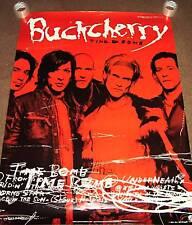 BUCKCHERRY HUGE Mint 2001 PROMO POSTER 4 Time bomb CD