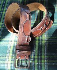 Medieval Ranger Leather Ring Belt Steampunk Larp Renaissance sca mountainman