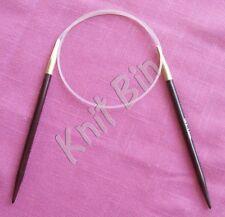 """Rosewood 24"""" Circular Knitting Needles; Choose Size"""