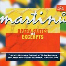 Martinu: Opera Suites and Excerpts (CD, 2013, Supraphon) Free Ship #GF59