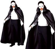 Phantom Of The Night Opera Mens Fancy Dress Halloween Costume + Mask