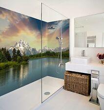3D Fluss Baum 78 Tapete Badezimmer Drucken Abziehbild Mauer Deco AJ WALLPAPER DE