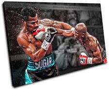 Boxing Floyd Mayweather Sports SINGLE CANVAS WALL ART Picture Print VA