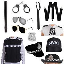 POLICEWOMEN POLICEMAN CHOOSE PIECES WOMEN SET FANCY DRESS COSTUME POLICE KIT