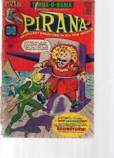 THRILL-O-RAMA #2 PIRANA (1966) Harvey Comics 2 pages of Al Williamson art