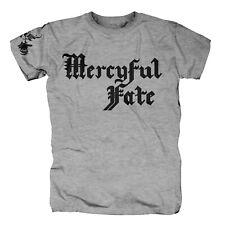 MERCYFUL FATE - Logo Grau Grey T-Shirt