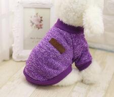 Cute Chihuahua Yorkie small dog pet fleece clothes coat jacket sweater soft warm
