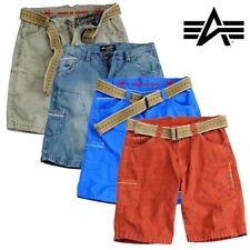Alpha Industries Pantaloncini LANCER Cargo Pant Pantaloni Cargo Pants Bermuda S fino a 3xl NUOVO