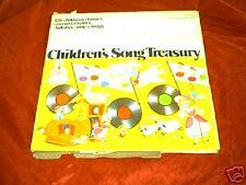Children's Song Treasury  4 LPs Cheesebrough-Pond Inc