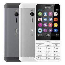 """Handy mit Tasten Nokia 230 Dual SIM 2G Bluetooth 2,8"""" FM-Radio Tastatur Kamera"""