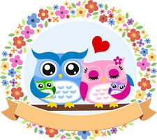 KB06 Bügelbild Bügeltransfer Aufbügler Sweet Pinguin in Love Liebe DIN A4 A5