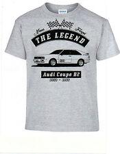 T-shirt audi Coupé b2, Oldtimer Youngtimer,