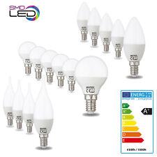 10er Sparset E14 LED Leuchtmittel Flamme Kerze Kugel Birne Lampe 4W 250 Lumen