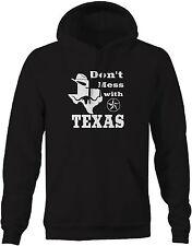 Don't Mess with Texas - Cowboy Austin Dallas Oil Longhorn Sweatshirt Hoodie