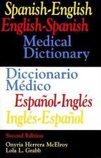 Spanish-English  English-Spanish Medical Dictionary/Diccionario Medico Espanol-I