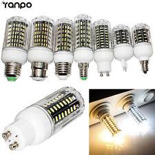 B22 E27 E14 G9 GU10 LED Corn Bulb 10W 20W 25W 30W 4014 SMD Light White Lamp 220V