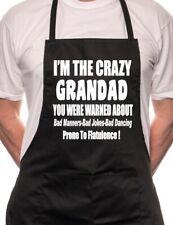 I'm The Crazy Grandad  BBQ Cooking Funny Novelty Apron