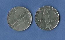 VATICANO LIRE 100 PAPA PIO XII  1955 ACMONITAL BB/SPL + VATICAN VATIKAN REGALO